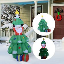 Homcom LED Weihnachtsbaum Christbaum Weihnachtsmann Weihnachtsdeko Santa Deko