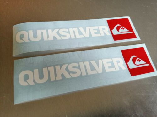 Quiksilver Surf Paddleboard Camper Van Adesivi Auto 2 x 500mm come foto