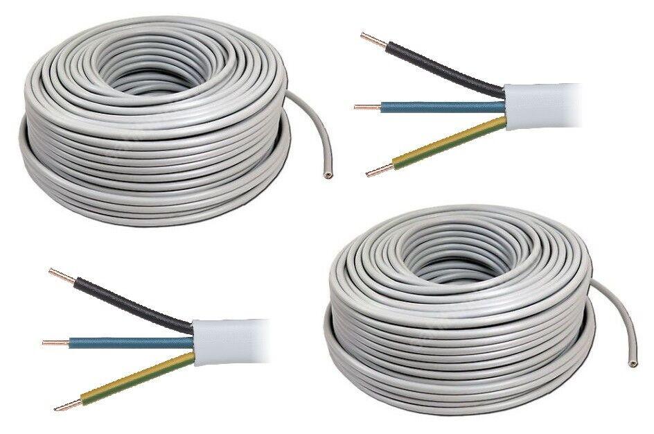 m NYM-J 5x2,5mm² Stromkabel Mantelleitung Kabel Leitung Elektroleitung 2,5