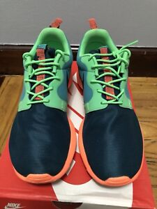 ab27e0b338ad Image is loading Nike-Roshe-Run-Hyperfuse-Poison-Green-HYP