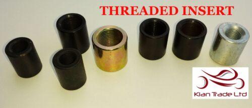 M10x1.5 BELLE Threaded INSERT adattatore tubo Giunto Rose Femmina Filettatura INSERTI