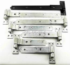 Image Is Loading PAIR OF HEAVY DUTY HOOK Amp BAND GATE