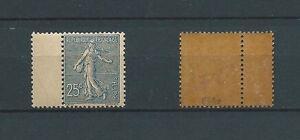 SEMEUSE-1903-YT-132-25-c-bleu-SIGNE-CALVES-TIMBRE-NEUF-LUXE