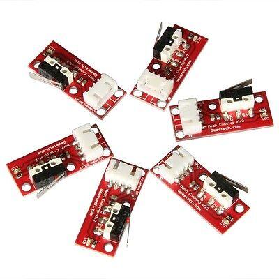 6pcs Mechanical Endstops V1.2 & 4-pin cables for Prusa 3D Printer Reprap Mendel