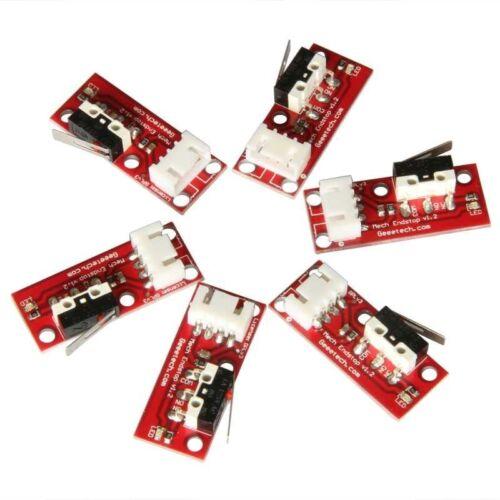 6pcs Mechanical Endstops V1.2 with 4-pin cables for 3D Printer,Reprap,Mendel