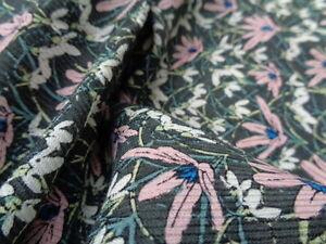 Liberty-Silk-Wool-039-Spring-Snowdrops-039-3-60m-x-1-40m-piece-dress-fabric