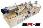 SR*S CATBACK EXHAUST SYSTEM 04 05 06 07 SCION TC JDM BLUE BURN TIP JDM