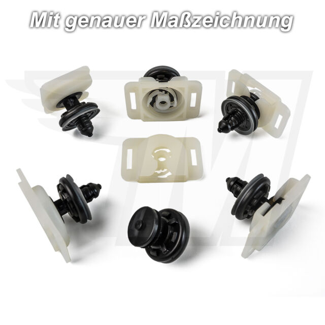 30x Clips Paneles de Puertas & Soporte Audi A4 A6 A8 Tt Q5 Rs4 Rs6 VW Skoda