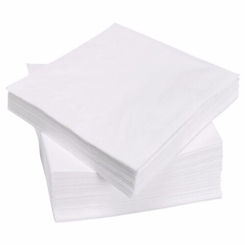 blanco sola capa de 30cm X 30cm 1 capas 5000 X Servilletas Servilletero