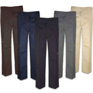 Dickies 85283 Men's Double Knee Cell Phone Pocket Loose Fit Work Pants