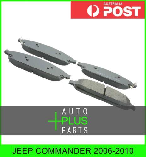 Front Disc Brake Pad Kit Fits JEEP COMMANDER 2006-2010