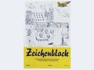 Zeichenblock-A3-10-120g-lose-Blaetter-mit-Ecken