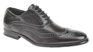 Goor-Shoes-Leather-Lined-5-Eyelet-Oxford-Brogues-M370A-Black