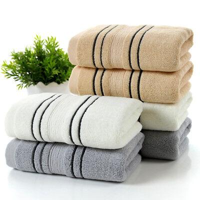 Soft 70x140cm Luxury Hotel Spa Bath Towel 100/% Genuine Turkish Cotton Whit V!