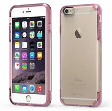 """PureGear Apple iPhone 6S PLUS (5.5"""") Slim Shell Pro Case Slim Cover CLEAR / Pink"""