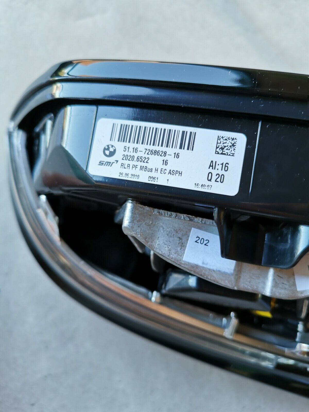 Original BMW M2 F21 F22 F23 F87 Aussenspiegel beheizt rechts 51167268636 7268628