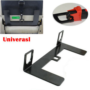 universal isofix mount base suv safety seat belt bracket latch 5mm steel stable ebay. Black Bedroom Furniture Sets. Home Design Ideas