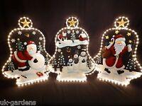 Christmas Rope Light; Decoration Outdoor Indoor Garden Ropelight Santa Snowman