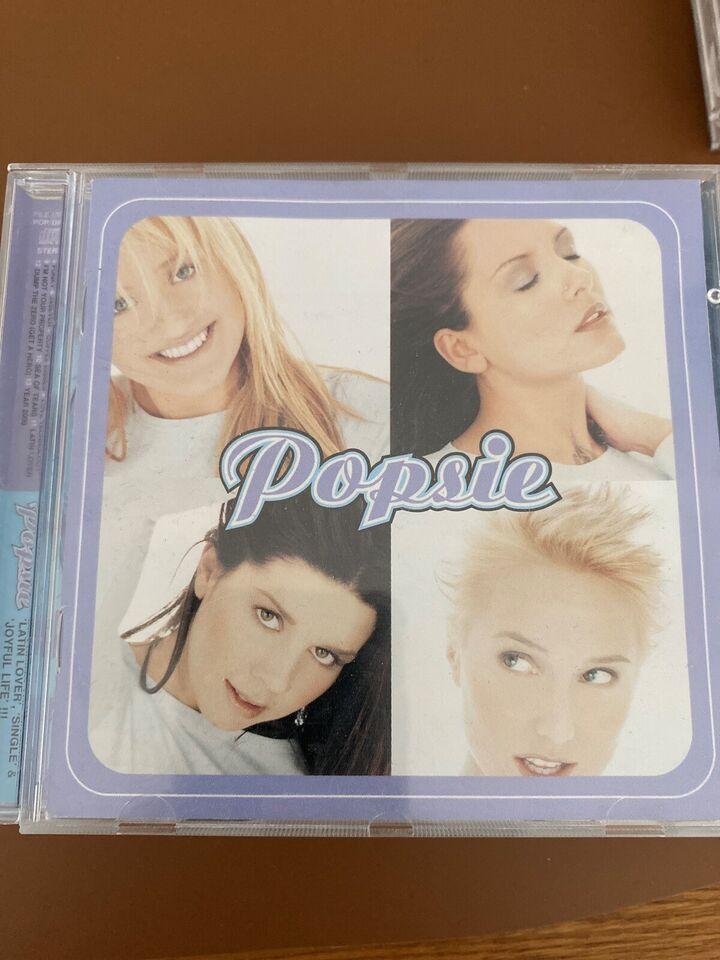 Popsie, S Club 7, Kelly Rowland: Alle 3 CD'er for 75kr