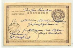 Travailleur Le Japon Yokohama Allemagne Fuhlen Carte Postale Via San Francisco 1900 {samwells} Cg146 Haute Qualité Et Bas Frais GéNéRaux