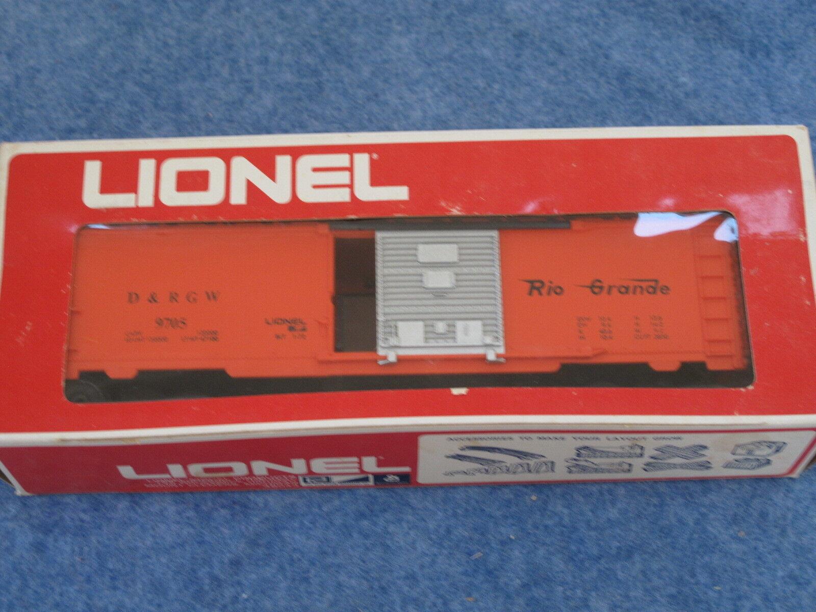 1972 Lionel 6-9705 Denver and Rio Grande Box Car L1250