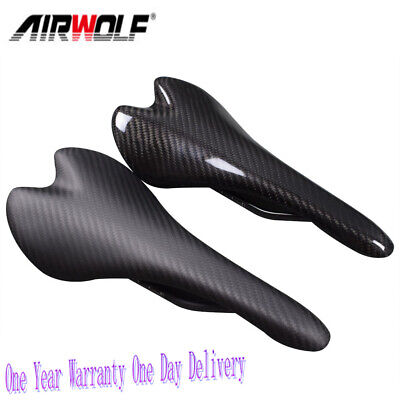 Details about  /Carbon Fiber MTB Road Bike Saddle Mountain Bicycle Seat Cushion Pad Cycling Part