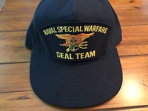 Image is loading Naval-Special-Warfare-Seal-Team-Cap 5a7f46e2a7ef