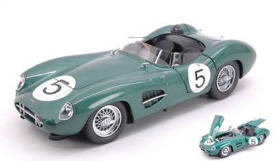 Aston Martin Dbr1 #5 Winner Lm 1959 C. Shelby / R. Salvadori 1:18 Model Cmr Bianchezza Pura