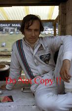 Nanni Galli MARTINI TECNO f1 Ritratto British Grand Prix 1972 Fotografia