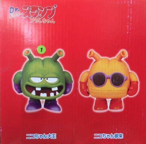 Bandai Dr.Slump Arale Alien King NicoCham /& assistance action figure 6.5 inches
