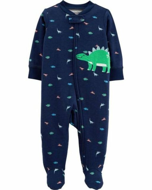 4b6d07c4a Carter s Baby Boys  Zip up Dinosaur Sleep and Play 3 Months for sale ...
