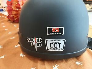 Black, X-Small Skid Lid Original Helmet
