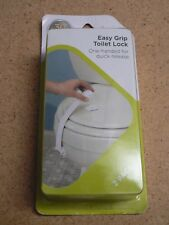 Safety 1st 2 Pack Easy Grip Toilet Lock One Handed for Quick Release 72310