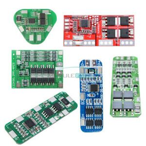 4//5//20//25//30A 3S Li-ion Lithium Battery 18650 Charger PCB BMS Protection Board