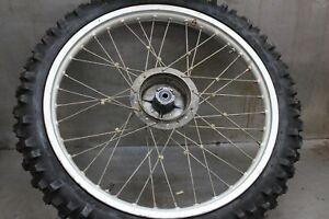 1980-Honda-XR200-XR-200-Front-Wheel-Tire-and-Rim-21-034-Inch-x-1-60-Dunlop-Sports