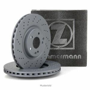 ZIMMERMANN-Bremsscheiben-Satz-fuer-PORSCHE-911-997-991-718-BOXSTER-CAYMAN-vorne