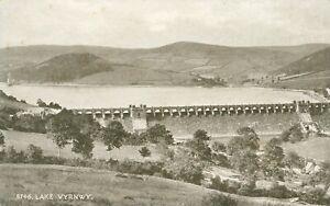 Lake Vyrnwy dam  Llanwddyn (Photochrom Sepiatone Series no.5746) 1910s