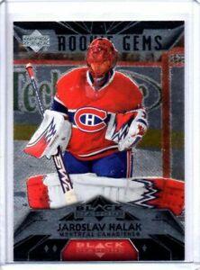 Jaroslav-Halak-2007-08-UD-Black-Diamond-Rookie-Gems-RC