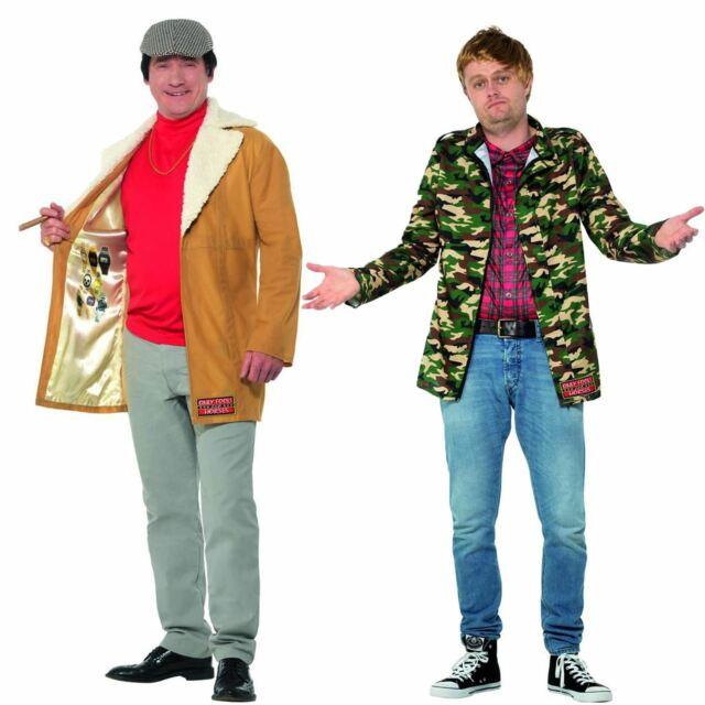 Mens Del Boy Only Fools And Horses Stag Night Party Fancy Dress Costume Outfit