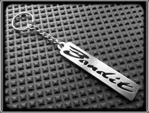 Keyring-for-SUZUKI-GSF-BANDIT-Stanless-Steel-Hand-Made-Chain-Loop-Key-Fob