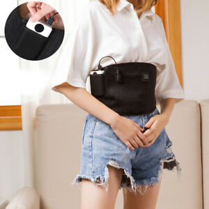 USB Electric Heating Pad Belt Waist Brace Dysmenorrhea Belly Abdomen Pain Relief