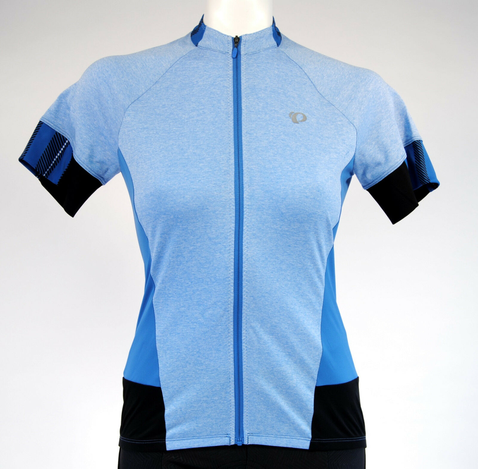 Pearl Izumi Select Escape Cycling SS Jersey,Women's, Large, Heather bluee