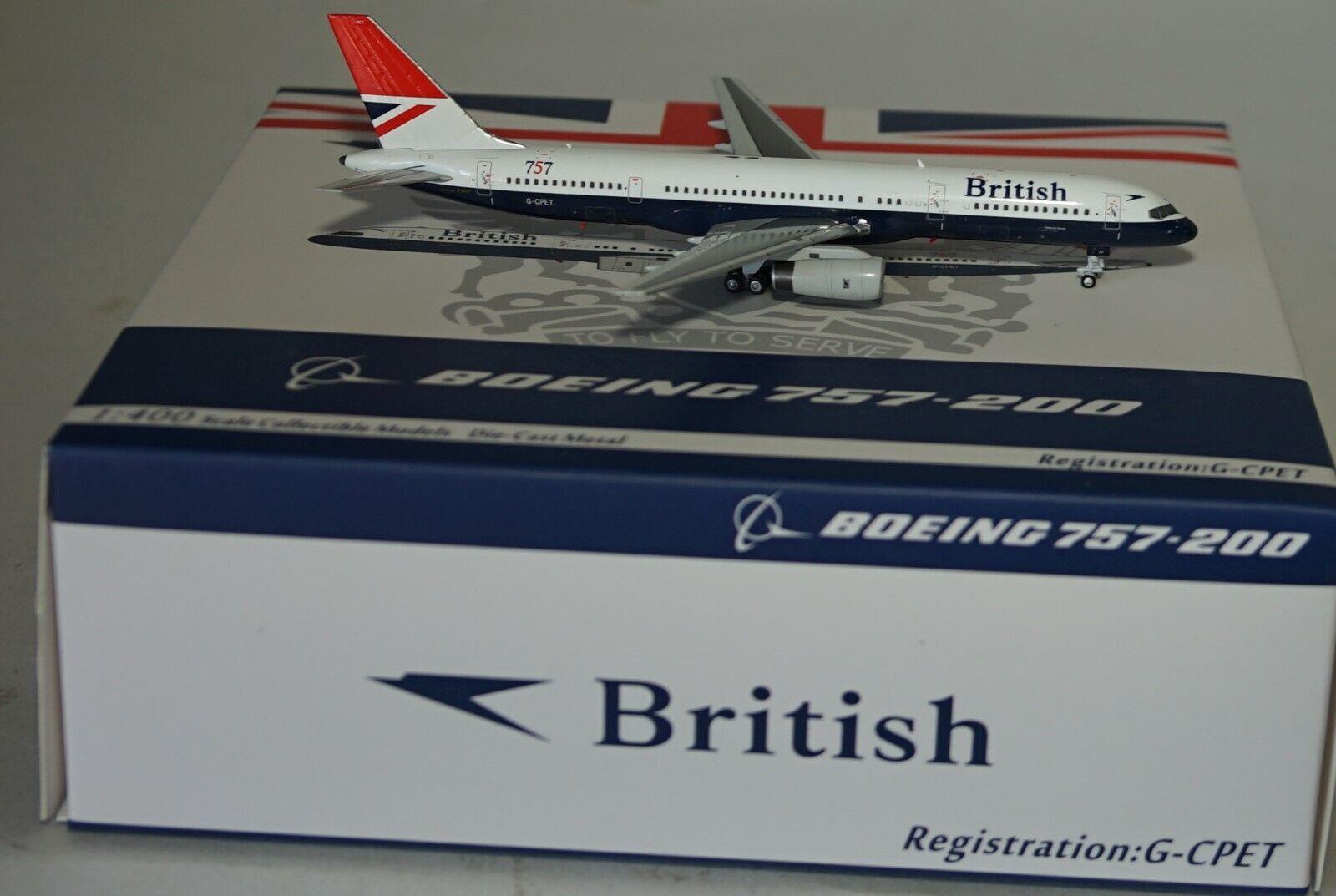 NG Model 53029 Boeing 757-236 British Airways G-Cpet in 1 400 Maßstab