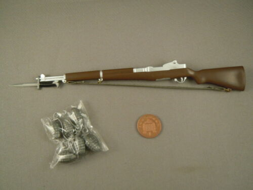 LOOSE M1 Rifle /& ACCESSORIES FIELD COMBAT ACTION MAN 40th