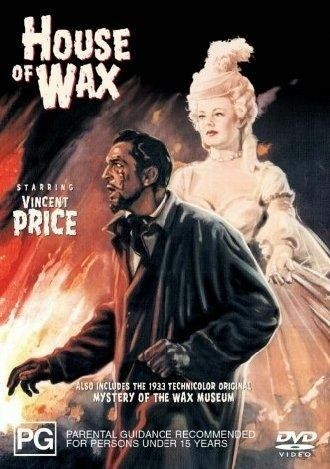 1 of 1 - HOUSE OF WAX DVD=1953=VINCENT PRICE=REGION 4 AUSTRALIAN RELEASE=NEW AND SEALED