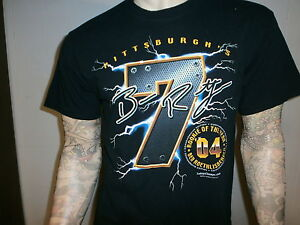 BEN-ROETHLISBERGER-ROOKIE-OF-YEAR-T-SHIRT-Pittsburgh-Steelers-2004-Large