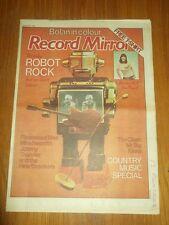 RECORD MIRROR APRIL 9 1977 FLEETWOOD MAC KINKS JOHNNY THUNDER THE CLASH MR BIG