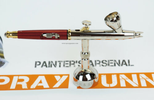 Airbrush Harder and Steenbeck Infinity Solo .15mm with cleaning brush set 126533