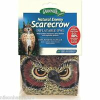 Inflatable Plastic 2' Scarecrow Great Horned Owl Pest Repellent Decoy Ne-or