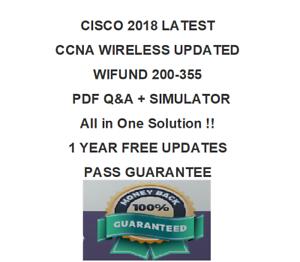 200-125 CCNA CISCO CERT NETWORK ASSOCIATE VIDEO TRAINING /& PDF/&SIM 2018 VERIFIED